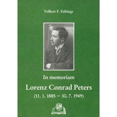 In memoriam - Lorenz Conrad Peters