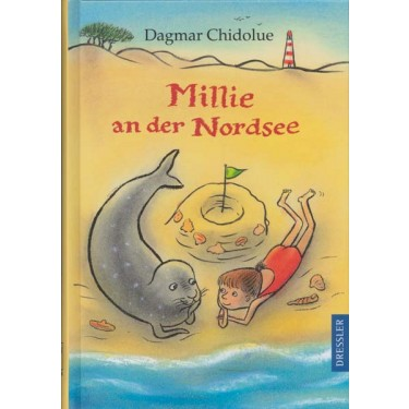 Millie an der Nordsee