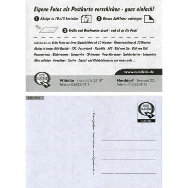Postkarten-Rückseitenaufkleber