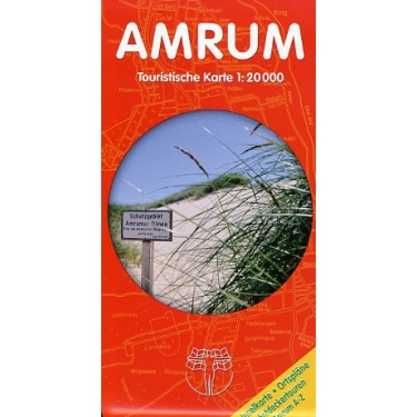 Amrum Inselkarte  – Touristische Karte 1:20.000