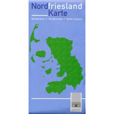Nordfriesland Karte