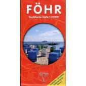 Föhr – Touristische Karte 1:25.000