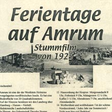 Ferientage auf Amrum Stummfilm 1925